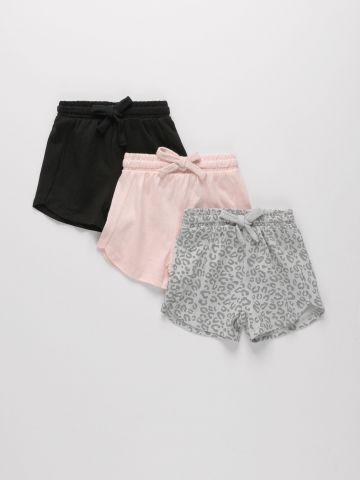 מארז 3 מכנסיים קצרים עם הדפסים שונים / 3M-3Y של FOX