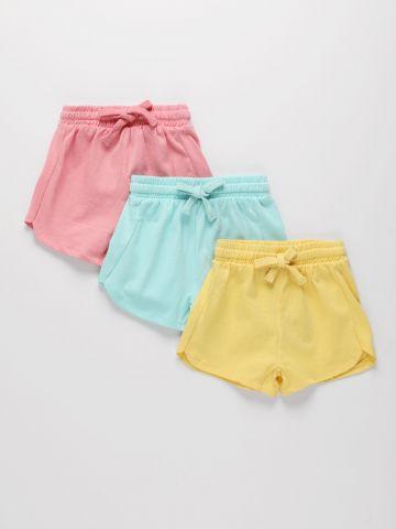 מארז 3 מכנסיים קצרים בצבעים שונים / 3M-3Y של FOX