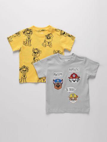 מארז 2 חולצות בהדפס יחידת החילוץ / 6M-3Y של FOX