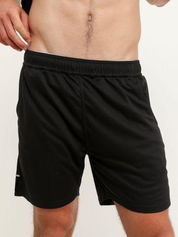 מכנסי אקטיב קצרים עם כיסים של FOX