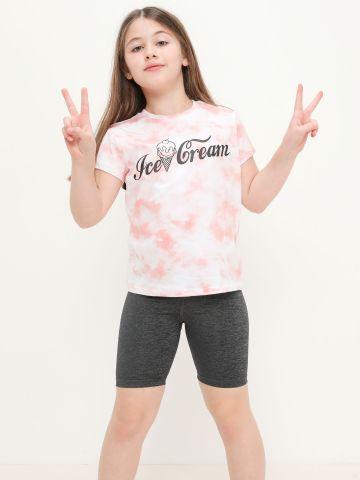 מארז 2 חולצות עם הדפס של FOX