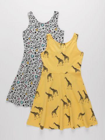 מארז 2 שמלות בהדפס / בנות של FOX