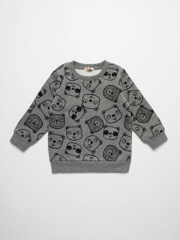 חולצת פוטר בהדפס דובים / 3M-3Y של FOX