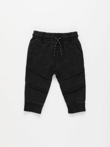 מכנסי פוטר דמוי ג'ינס / 3M-3Y של FOX
