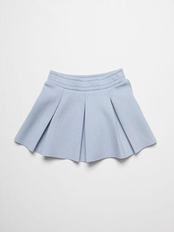 חצאית עם עיטור קפלים / 6M-3Y של FOX