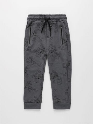 מכנסי טרנינג בהדפס לוני טונס / 3M-3Y של FOX