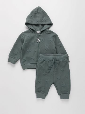 חליפת ג'קט ומכנסיים / 0-24M של FOX