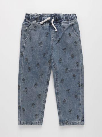 ג'ינס בהדפס דיסני / 3M-3Y של FOX