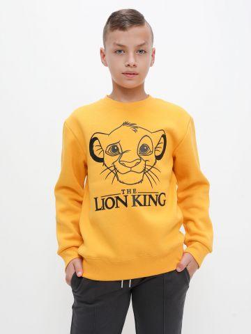 חולצת פוטר עם הדפס מלך האריות של FOX
