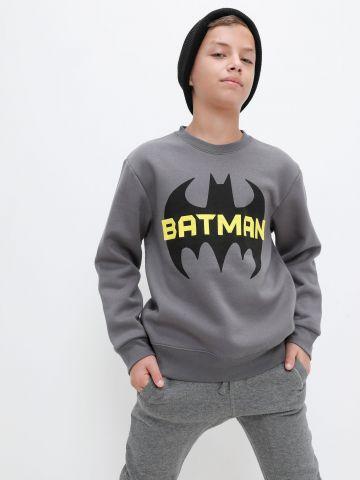 חולצת פוטר עם הדפס באטמן של FOX