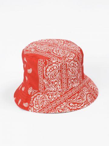 כובע באקט פייזלי דו צדדי של TERMINAL X