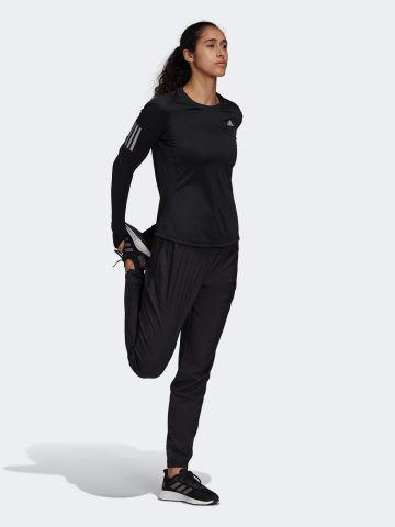חולצת אימון עם לוגו ושרוולים ארוכים של ADIDAS Performance