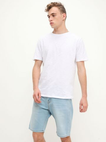 ג'ינס קצר ווש של FOX