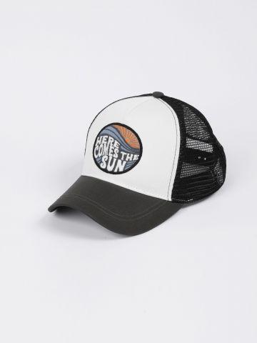 כובע מצחייה רשת עם רקמת כיתוב / 1Y-9Y של TERMINAL X KIDS