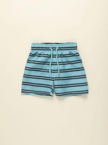 מכנסי גלישה בהדפס פסים / 2Y-9Y של TERMINAL X KIDS