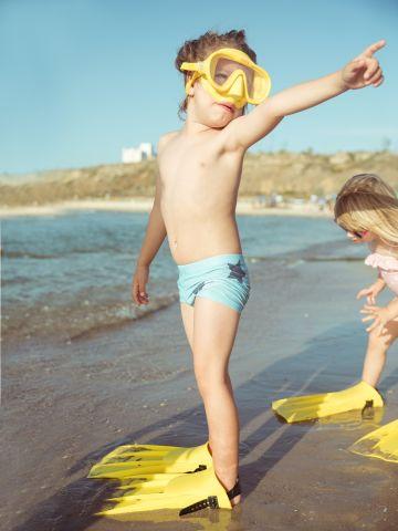 מכנסוני בגד ים בהדפס כוכבים / 12M-5Y של TERMINAL X KIDS