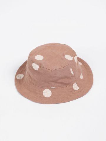 כובע באקט פשתן בהדפס נקודות / בייבי בנים של TERMINAL X KIDS