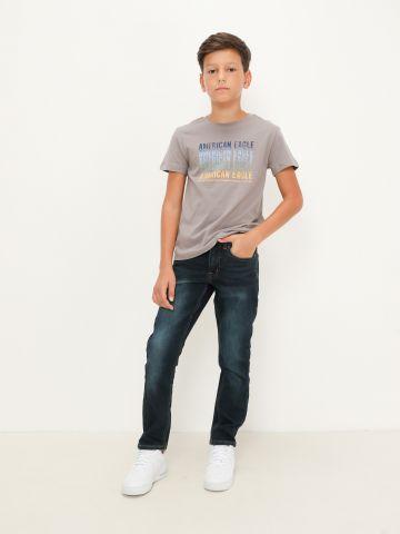 ג'ינס סקיני Dark Wash Skinny של AMERICAN EAGLE