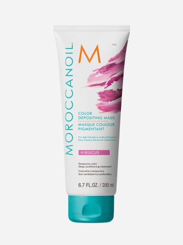 מסכת צבע זמני היביסקוס של MOROCCANOIL