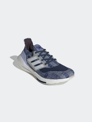 נעלי ריצה Ultraboost 21 Primeblue / גברים של ADIDAS Performance