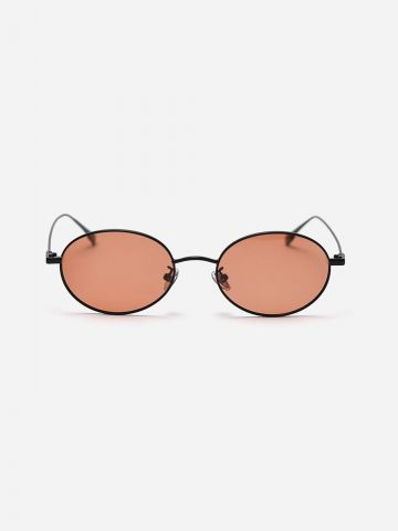 משקפי שמש אליפסה עם מסגרת דקה / גברים של XRAY