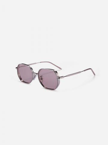 משקפי שמש עם מסגרת מתכת / נשים של XRAY