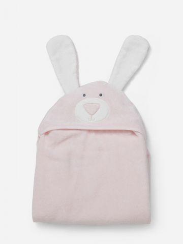מגבת עם כובע ארנב / בייבי של SHILAV