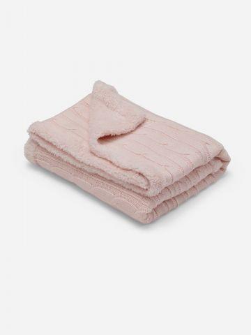 שמיכה דו צדדית לעגלה / בייבי בנות של SHILAV
