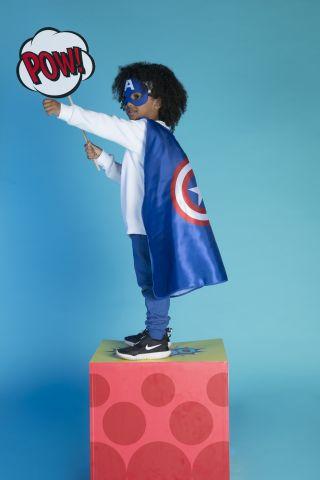 גלימה קפטן אמריקה / תחפושת לפורים של FOX