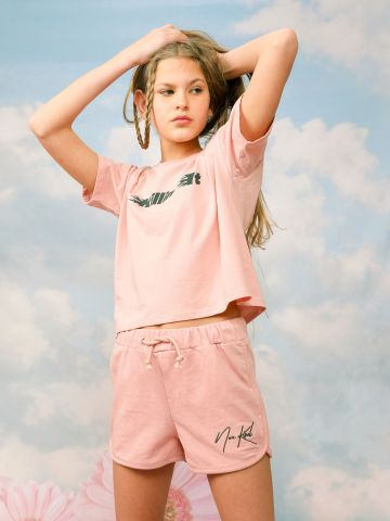 מכנסיים קצרים נועה קירל / בנות של NOA KIREL X TERMINAL X