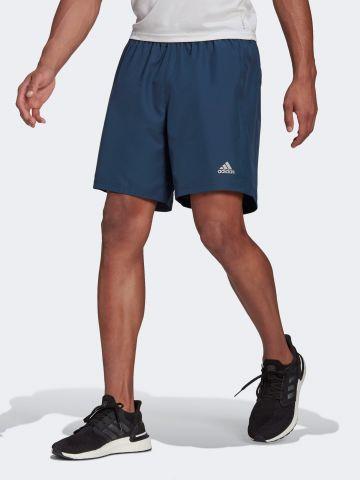 מכנסי ריצה קצרים עם לוגו / גברים של ADIDAS Performance