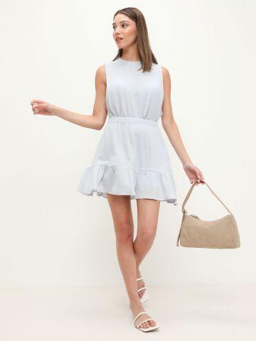 חצאית טטרה בסגנון פפלום של TERMINAL X