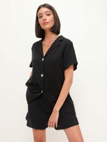 חליפת מכופתרת ומכנס קצר של TERMINAL X