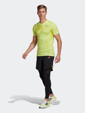 מכנס ריצה קצר עם לוגו של ADIDAS Performance