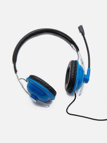 אוזניות קשת עם דיבורית / ילדים של YOLO