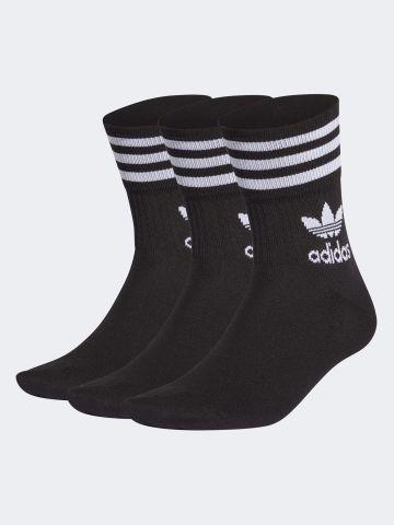 מארז 3 זוגות גרביים גבוהים / גברים של ADIDAS Originals
