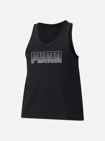 גופייה עם הדפס לוגו / בנות של PUMA