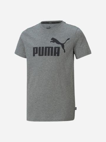 טי שירט עם הדפס לוגו / בנים של PUMA
