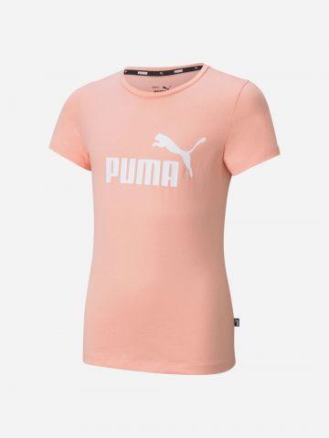 חולצת טי שירט עם הדפס לוגו / בנות של PUMA