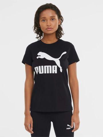 טישירט עם הדפס לוגו של PUMA