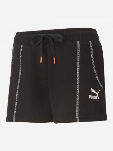 מכנסי טרנינג עם לוגו / נשים של PUMA