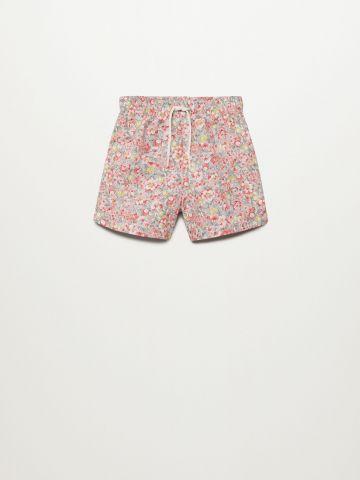 מכנסי בגד ים בהדפס פרחים / 9M-4Y של MANGO