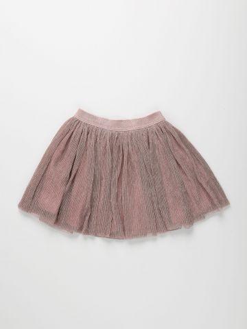 חצאית בשילוב שכבת נצנצים / בנות של THE CHILDREN'S PLACE