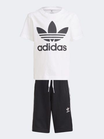 סט חולצה ומכנסיים עם לוגו / בנים של ADIDAS Originals