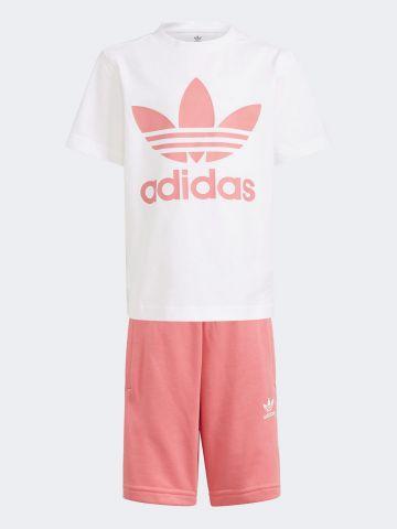 סט חולצה ומכנסיים עם לוגו / בנות של ADIDAS Originals