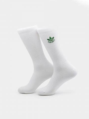 גרביים גבוהים עם הדפס לוגו / גברים של ADIDAS Originals
