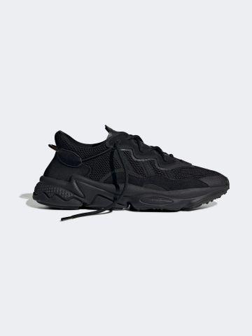 נעלי סניקרס עור Ozweego / גברים של ADIDAS Originals