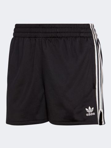 מכנסיים קצרים עם 3 פסים ולוגו המותג / נשים של ADIDAS Originals