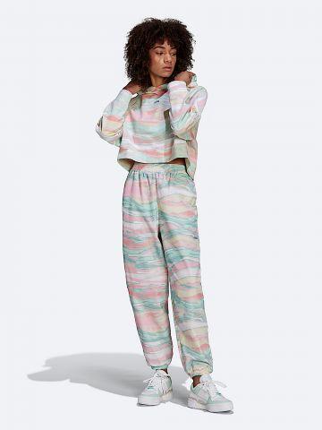 מכנסי ניילון עם לוגו המותג של ADIDAS Originals