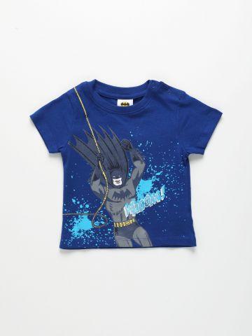 טי שירט עם הדפס באטמן / 6M-4Y של THE CHILDREN'S PLACE